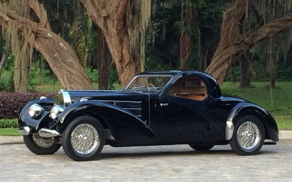 <p>The Grand Classics on display this year, typically the crown jewels of such shows, will include a stunning 1938 Bugatti Type 57C coupe – one of just 17 built – designed by company founder Ettore Bugatti's son Jean.</p>