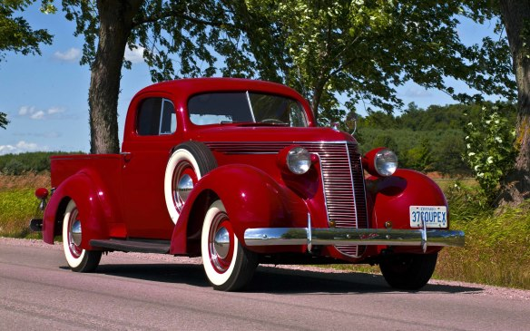 <p>The Studebaker brand will also be represented by a flawless 1937 Coupe Express pickup truck – a conceptual predecessor of the Chevrolet El Camino and Ford Ranchero – in the new-this-year truck class.</p>