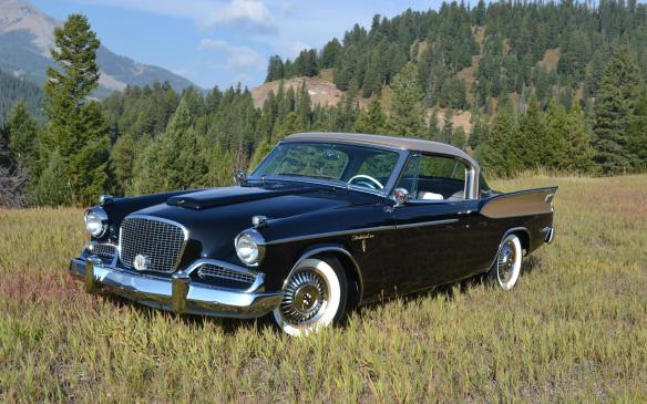 <p>From the same era but in complete contrast will be a big-finned '58 Studebaker Golden Hawk – the last of that lineage.</p>