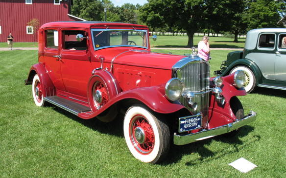 <p>A 1928 Pierce Arrow, and more, in a special museum display.</p>