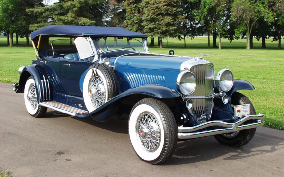 <p>Back to the Grand Classics in competition, there will be a special class for cars from the Auburn-Cord-Duesenberg triumverate, like this Duesenberg Model J.</p>