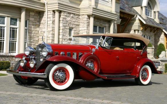 <p>And Cadillacs, like this V-12 powered 1932 Sport Phaeton.</p>