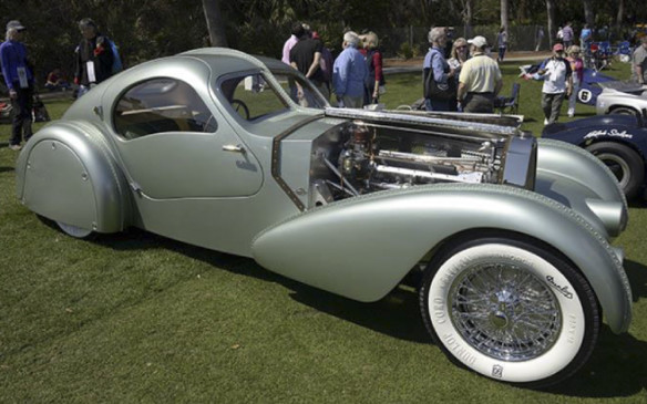 <p>It will be complemented by another Type 57, rebodied in Canada by the Guild of Automotive Restorers, with coachwork to duplicate the long-lost, one-off Aerolithe Elektron coupe prototype built for the 1935 Paris Auto Show.</p>