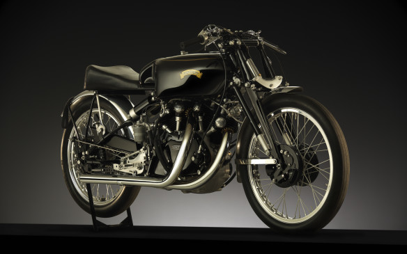 <p>The most famous Vincent of all, built as an experimental test-bed for race bikes and nicknamed 'Gunga Din', will be there too.</p>