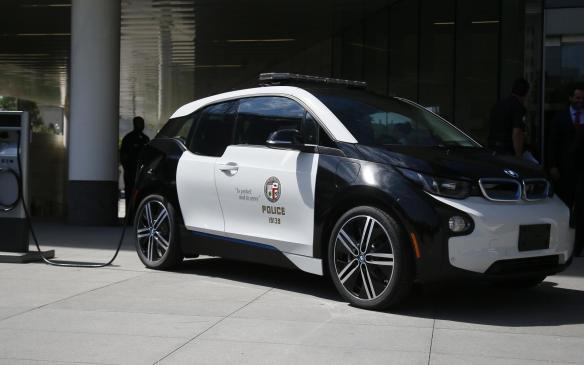<p>LAPD BMW i3</p>