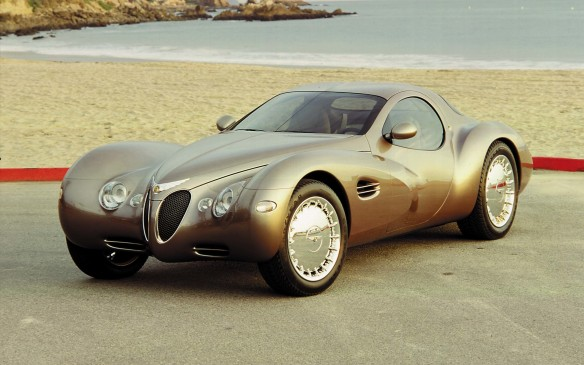<p>The '90s were an exciting time for Chrysler, with the tag-team duo of Bob Eaton and Bob Lutz in charge and an attitude that anything was possible. Anything, such as this art deco influenced Atlantic concept car that was said to materialize as a result of a Lutz doodle.</p>