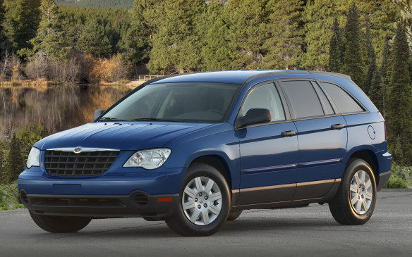 "<p>The Chrysler Pacifica debuted in 2004 as a ""Sports Tourer,"" arguably a forerunner to the now popular crossover segment. In effect, it was a cross between a minivan and a station wagon. With three-row ""2 2 2"" seating and front- or all-wheel-drive capability, it was a stylish alternative for drivers who wanted flexibility and capability with luxury amenities. Another idea that was, perhaps, ahead of its time, it lasted only until 2007.</p>"