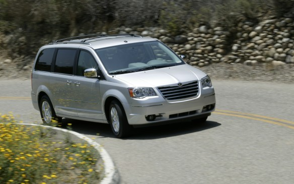 "<p>The fifth-generation Chrysler Town & Country minivan made its debut in the 2008 model year with 35 new or improved features for the ""family room on wheels,"" including the Stow 'n Go seating and storage system introduced in 2005 and a new Swivel 'n Go seating system. Swivel 'n Go featured second-row seats that swiveled 180 degrees to face the third row and included a removable table that installed between the second and third row, along with covered storage bins in the second row.</p>"