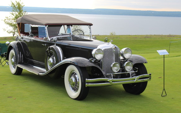 <p>The E-80 Imperial model was introduced as the top-of-the line Chrysler model as early as 1925. By 1931, the newly restyled Imperial, with its powerful, 348-cubic-inch, straight-eight engine, was competing with grand marques such as Cadillac and Packard. And it still is – today they're highly-valued members of the elite 'Grand Classic' fraternity and regular winners on the Concours circuit.</p>