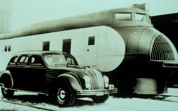<p>Chrysler set both engineering and appearance benchmarks in 1934 with the introduction of the Airflow, which was literally decades ahead of its time. It was the first American car to seriously address the technology of aerodynamics, beyond just visual 'streamlining' – including use of a wind tunnel in its design.</p>