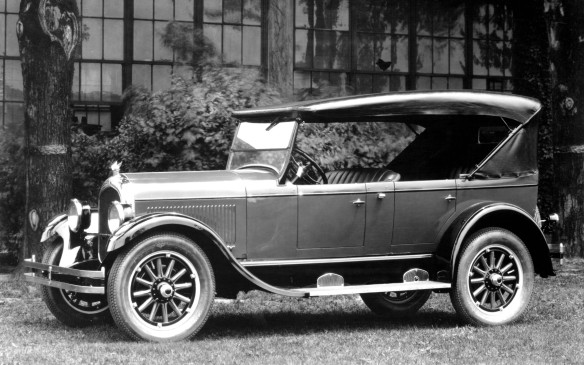 <p>The first Chrysler car was actually built in 1924, by Maxwell-Chalmers, before the company was reorganized as Chrysler. Engineering was priority number one for the car, called the Chrysler Six, as reflected by its specifications. It featured a brand-new, 201-cubic-inch engine, high-compression six-cylinder engine that developed 68 horsepower – a powerhouse at that time. It was among the first production cars ever with Lockheed four-wheel hydraulic brakes, and shock absorbers were standard on all models, as were replaceable oil and air filters.</p>