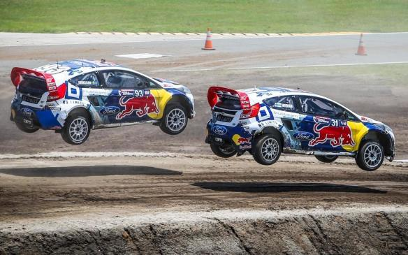 Read Auto News Rallycross Breaks The Mile Barrier