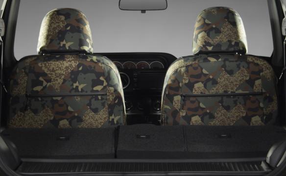 <p>2015 Scion xB 686 Parklan Edition seat fabrics</p>