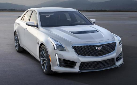 <p>Cadillac CTS-V Crystal White Frost Edition</p>