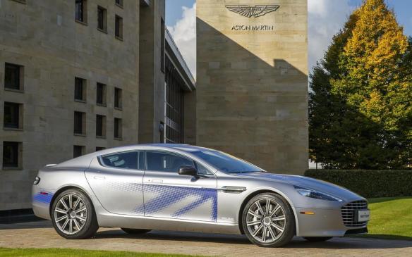 <p>Aston Martin RapidE concept</p>