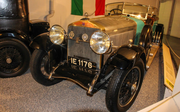 <p>This 1926 Isotta Fraschini Tipo 8A Dual Cowl Phaeton also was part of the The McDougald Collection. The Italian-built luxury cars, which were rivals to Roll-Royce, appeared frequently in movies of the day and were the private cars of many movie stars.</p>