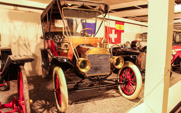 <p>Unlike the cars found in many museums, those in the CAM, like this Canadian-built Ford Model T, are not restored to better-than-new condition. This one is believed to be the earliest still-existing Model T built in Canada.</p>