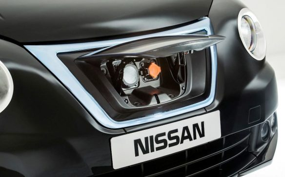<p>The large grille on the Nissan NV200 London Black Cab concept is actually a fake panel to cover the electric vehicle's charge ports. Nissan's electrification plans fit in perfectly with the zero-emission requirements that take effect in 2018 for London Taxis and cars for hire.</p>