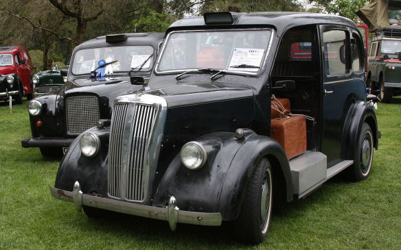 <p>One of the early players in the London Taxicab market was Beardmore Motors. The early years of the industry were populated with importers and assemblers but the Scottish engineering and shipbuilding firm William Beardmore and Company. Beardmore began producing high-quality taxicabs in Paisley after World War I and continued through the late 1950s, when their body-supplier Weymann was bought up by Metropolitan-Campbell (eventually to evolve into Metrocab).</p>