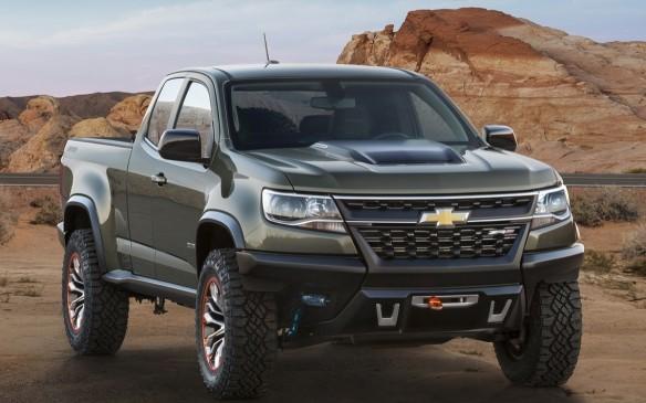 <p>Hydrogen Fuel Cell Chevrolet Colorado</p>