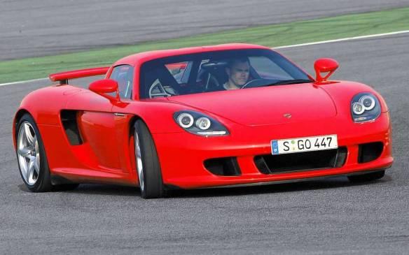 <p>Porsche Carrera GT</p>