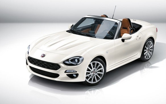 <p>The Fiat 124 Spider makes a reappearance for the Italian-American brand after a three decade hiatus. It's been recreated by Fiat through a joint venture with Mazda using the MX-5 platform. It may have a similar makeup, but the 124 Spider is a bit heavier and takes on more of a luxurious tone; not to mention a different 1.4-litre four-cylinder engine running the show.</p>