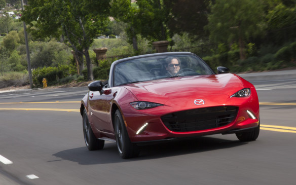 <p>Mazdas were just arriving on the scene with their novel rotary engines in the days of our boomer youth and there was no equivalent of the Miata – at least not from Mazda. What there were, however, were affordable British sports cars such as Austin Sprites and MG Midgets and MGBs and Triumph Spitfires and TR4s and, a little further upscale, Lotus Elans. Fun-to-drive all, but each needing it own riding mechanic! When the Miata arrived on the scene it embodied the spirit of those fun but fragile machines and combined it with reliability and a warranty. The latest MX-5 continues and advances that theme and enhances it with a little Ferrari essence in its front-end design. Who can say no?</p>