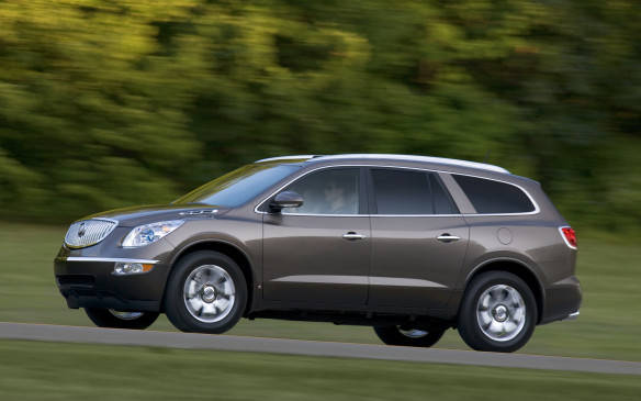 <p>The only other vehicles on the western top-10 list were variations of GM's 2010 mid-size SUVs – the Buick Enclave/Saturn Outlook siblings – collectively ranked ninth.</p>