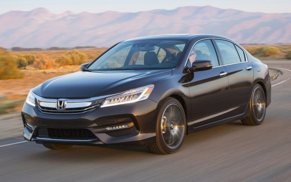 <p>Available in just about every automotive bodystyle ever devised, the Accord has been a perennial top seller in North America for three decades. The latest (ninth) generation added several never before seen segment features, including LED headlights and a right-side blind-spot monitoring camera.</p>