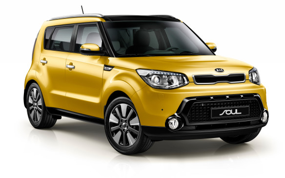 <p>Kia's sub-compact crossover introduced a generation of new buyers to the segment and set Kia up as an edgy, style-conscious company. Clever styling cues give the impression of high-ground-clearance go-anywhere ability but the Soul's front-wheel drive only platform basically makes it just a tall hatchback.</p>