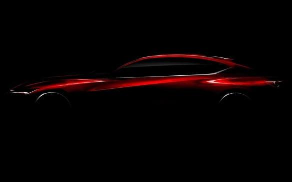 <p>Acura Precision Concept profile</p>