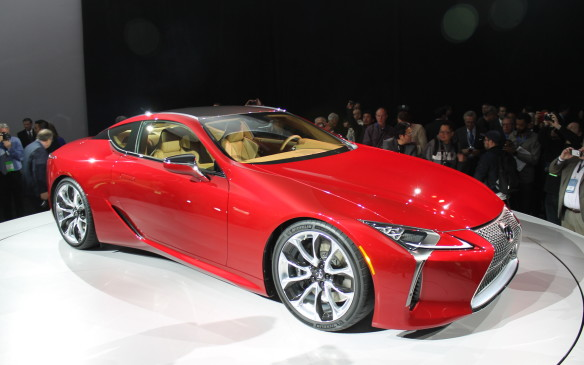 "<p>Toyoda said he wanted to get away from Lexus's reputation as a boring brand and the LC500 will be sure to do that. It's part of a ""new dawn"" for Lexus, and is built on a completely-new platform. It will be available to buy later this year, but don't expect it to be cheap.</p>"