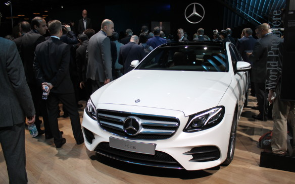 <p>Mercedes-Benz didn't seem too worried about competition when it introduced a slew of new vehicles, including the 10th generation of its mid-size E-Class.</p>