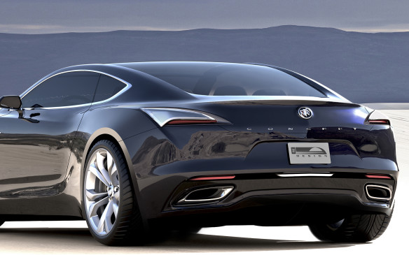 <p>Buick has a performance past, but it's not thought of these days as a sporting brand. The Avista is intended to change that, with a rear-wheel-drive chassis and a 400 hp V6 twin-turbo engine. It's doubtful Buick will actually build it any time soon, but we can always hope.</p>