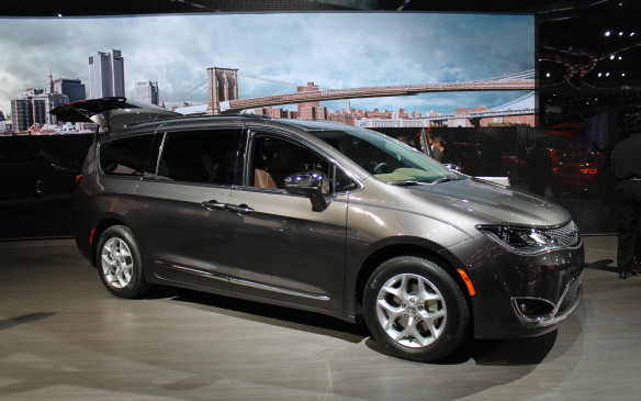 <p>Detroit neighbour Chrysler finally announced the death of the Town & Country minivan after 30 years, to be resurrected as the Pacifica. It's no relation to the crossover last sold in 2008, but is an attempt to revitalize the people-hauler with a sleeker look.</p>