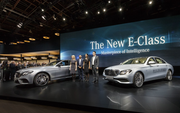 <p>The new E-Class is fitted with safety technology never seen before, including seats that slide away from the point of impact in a collision, to better protect the passenger. It will be the first production vehicle that will change lanes with no driver input, as the next stage on Mercedes' quest to build a production autonomous car.</p>