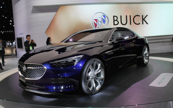 <p>General Motors showed a much sexier model close to the Bolt, however. The Buick Avista 2 2 coupe concept was unexpected and one of the hits of the show. </p>