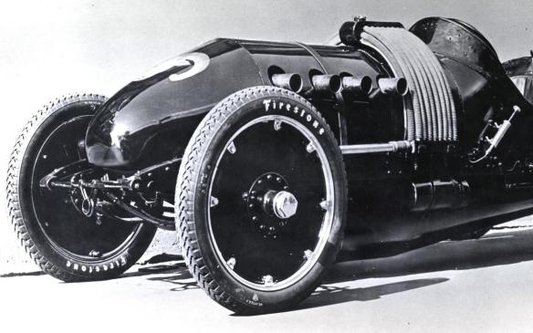 "<p>The 60 Special, or ""Bug,"" was built by the Buick racing team and had a unique nosecone – a feature designed more for aesthetics than aerodynamics. A huge 622 cubic-inch (10.2-litre) four-cylinder engine propelled the Bug to an outrageous top speed of 110 mph 9177 km/h). Buick built two 60 Special race cars, one for Burman, and a second for another racer by the name of Louis Chevrolet.</p>"
