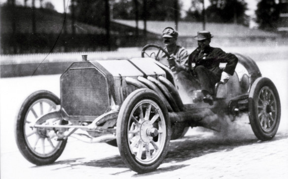 <p>Not just on-the-road performance but racing is a big part of Buick's DNA, dating back to the early days of the brand, which was founded in 1903. In 1909 – two years before the first Indianapolis 500 – the 2.5-mile-long Indianapolis Speedway was inaugurated with a 250-mile race that was won by Bob Burman, driving a stripped down chassis with a powerful Buick engine. He averaged more than 53 mph (85 km/h), an impressive speed for the day and that distance. Of the nine cars that finished the race, three of them were Buick models, helping the brand establish its reputation for durability.</p>