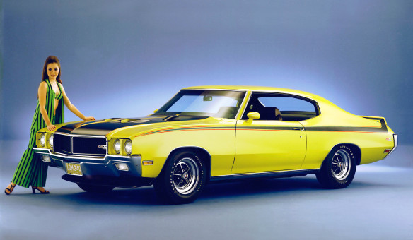 <p>At the height of the muscle car wars, torque was king and no competitor claimed more than the 510 lb-ft (678 Nm) of twist generated by the GSX's available 455 Stage I V-8 engine. In a 1970 road test, <em>Motor Trend</em> achieved 0-to 60 mph (0-to-97 km/h) in 5.5 seconds and covered the quarter-mile in 13.4 seconds – notable numbers for the time.</p>