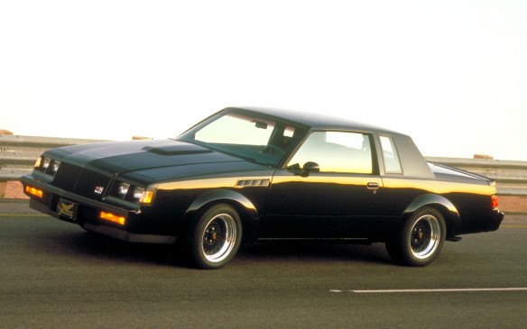 <p>During the resurgence of high-performance in the 1980s, Buick ditched the conventional V-8 playbook and continued to cultivate its turbo V-6 program, which reached its zenith in the Grand National. Buick marked the end of the car's production in 1987 with the limited-production GNX – a Grand National on steroids. With a larger turbocharger, it was rated at 276-horsepower and featured all-black attire. Only 547 were built and they became instant collectibles.</p>