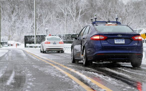 Ford tests autonomous vehicle in snow
