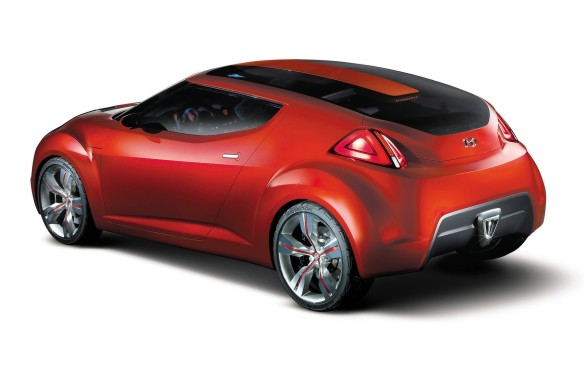 <p>With the HND-3 Veloster concept, Hyundai wanted to reach out to a new generation of buyers, so it created a cool looking car that really wasn't overwhelmingly awesome as concept cars tend to go. Most of its features were cosmetic — the engine start button on top of the gear shift, for example, and neon lights dotting the interior, and a U-shaped glass roof — without the inspiring performance fantasy of concepts.</p>