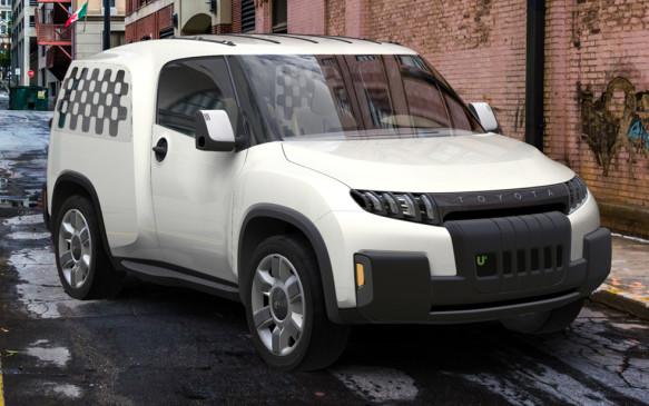 <p>Toyota Urban Utility Concept</p>