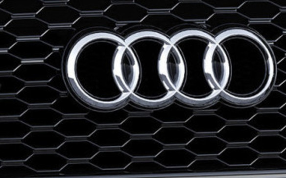 <p>2016 Audi RS Q3 Performance logos</p>