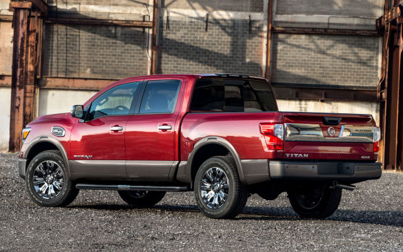 <p><strong>Highest-ranked Large Light-duty Pickup: Nissan Titan.</strong></p> <p>Runners-up: GMC Sierra and Chevrolet Silverado</p>