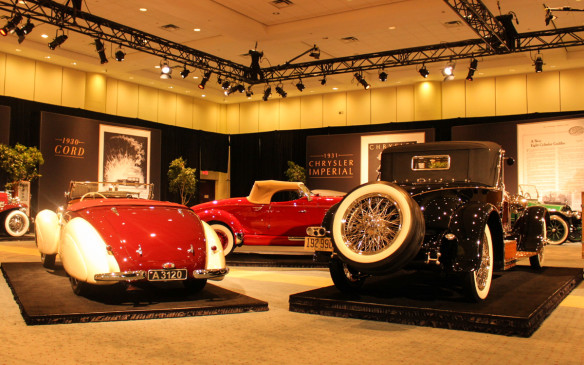 <p>Auto shows are all about selling new cars, but the Canadian International Auto Show in Toronto has a long history of honouring automobile history as well. This year it did so with its second annual Art and the Automobile feature, presented by the Cobble Beach Concours d'Elegance, which is held each September near Owen Sound, Ontario.</p>