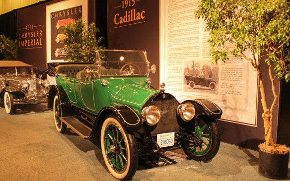 <p>The Type 51 was the first Cadillac, as well as the first American car, to be powered by a V-8 engine. It was also the first Cadillac with the steering wheel on the left side and it offered electric starting, which the brand introduced to the industry three years earlier. Typical of the era, its advertising was heavy on both text and hyperbole.</p>