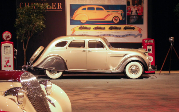 <p>American automobile design changed forever in 1934 when Chrysler shocked the staid automotive world with its futuristic aero-designed Airflow – one of the first cars ever designed with the aid of a wind tunnel.</p>