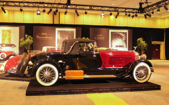 <p>Rarest of them all, this Isotta Fraschini Tipo 8A SS boattail convertible coupe is one of just two such models to have been built. Isotta Fraschini was an Italian automaker created by Cesare Isotta and Vincenzo Fraschini in 1902. Huge, even by the standards of the day, the 8A SS competed in the same class as the Duesenberg and Rolls-Royce. This car won Best of Show honours at the 2013 Cobble Beach Concours d'Elegance.</p>